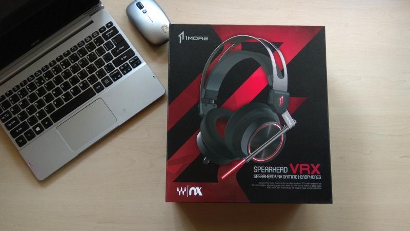 1More Spearhead VRX – лучшие игровые наушники – Упаковка ce385663faa0d