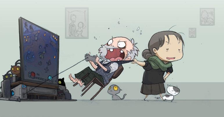 Прикольные картинки геймера