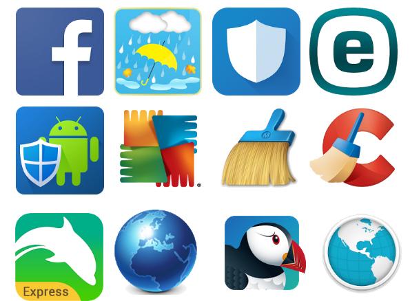 5 бесполезных приложений, которые лучше удалить с Android – Иконки приложений