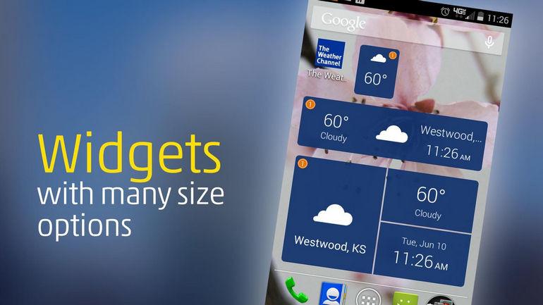 5 бесполезных приложений, которые лучше удалить с Android – Погодные приложения