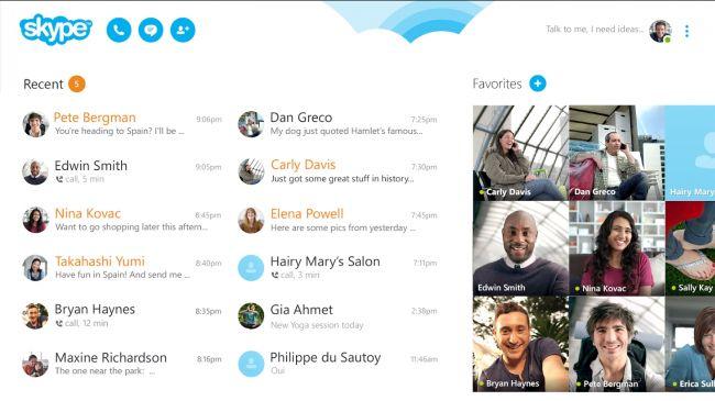 50 лучших приложений для Android - Skype