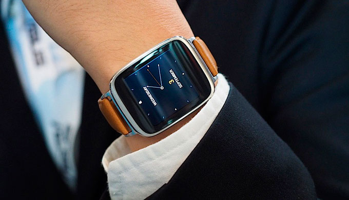 ASUS ZenWatch-SMART-часы имиджевая картинка