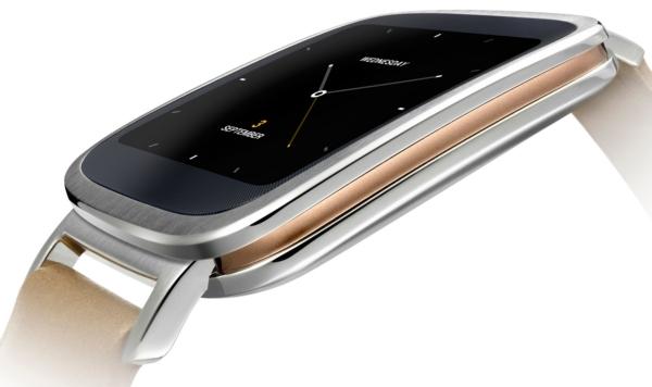ASUS ZenWatch-часы вид сбоку