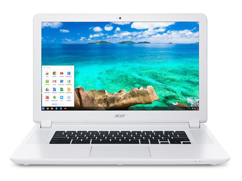 Acer Chromebook 15-экран