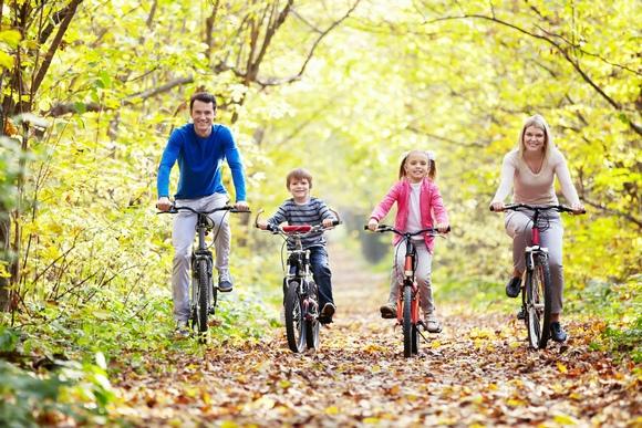 Активный отдых всей семьей на открытом воздухе