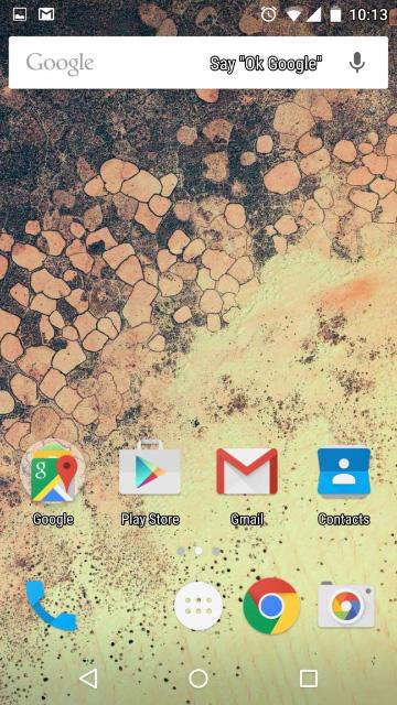 Android 5.0 Lollipop - Текст с повышенной контрастностью