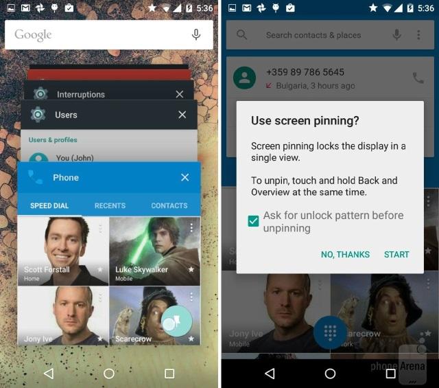 Android 5.0 Lollipop - «Закладки» в приложениях (2)