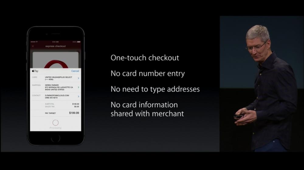 Apple Pay-новинки на октябрьской презентации
