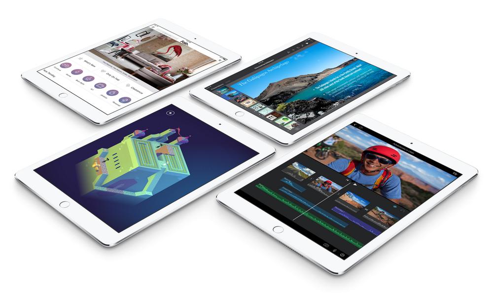 Apple iPad Air 2-скриншоты экрана