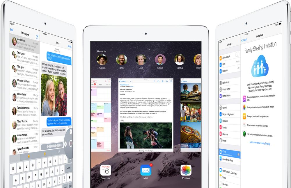 Apple iPad Air 2-скриншоты