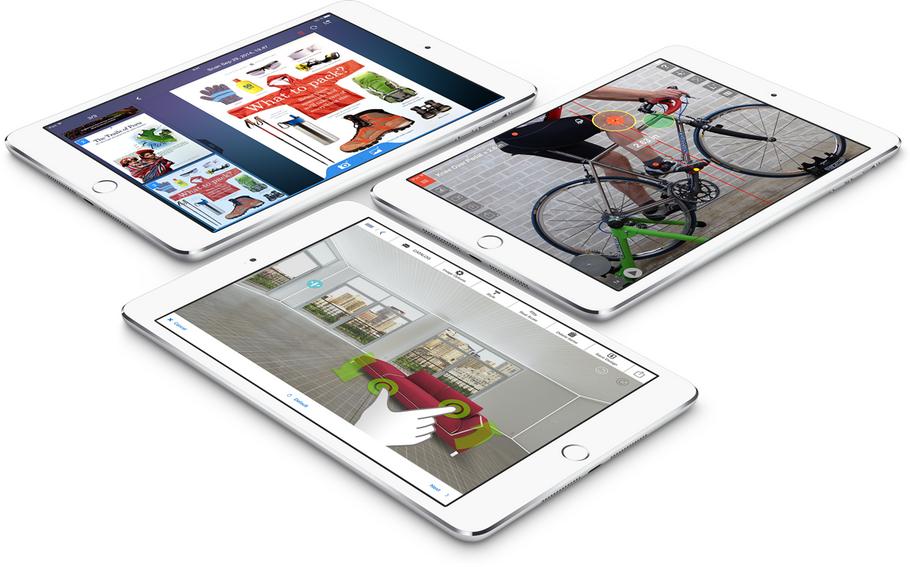 Apple iPad mini 3-приложения
