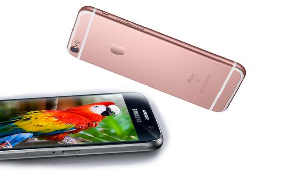 Apple iPhone 6S против Samsung Galaxy S6 - главное фото