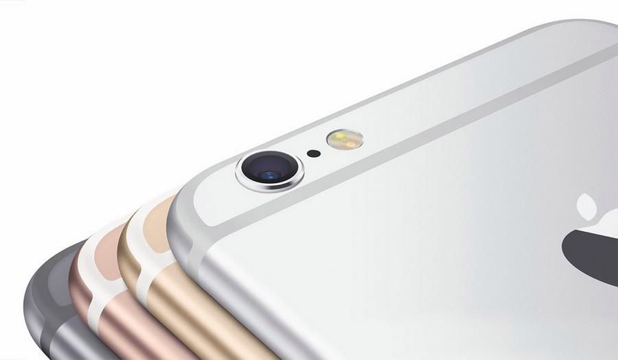 Apple iPhone 6s Plus-расцветки и тыловая камера