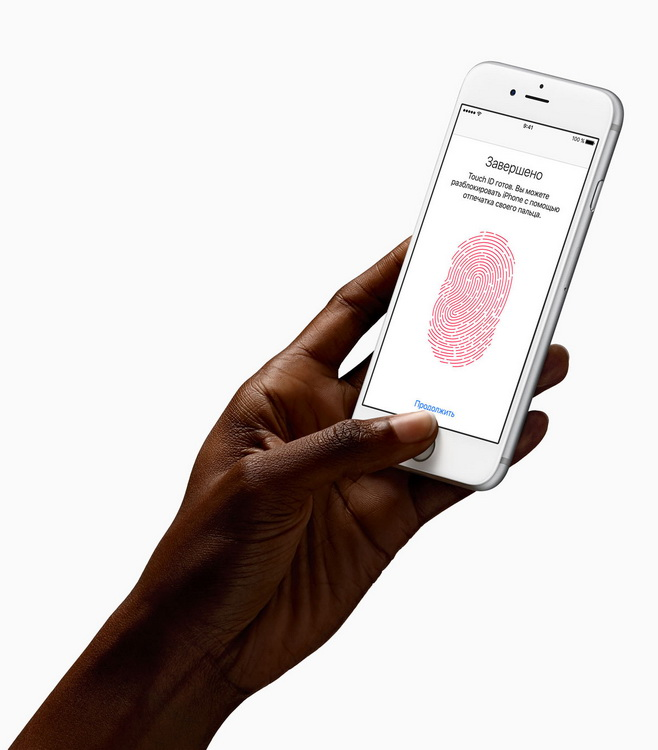 Apple iPhone 6s Plus-touch id
