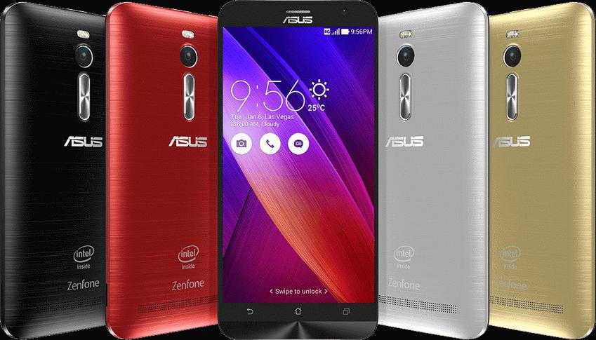 Asus ZenFone 2-экран и задняя панель