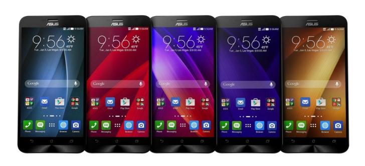 Asus ZenFone 2-экран