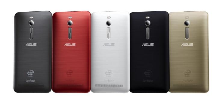 Asus ZenFone 2-расцветки