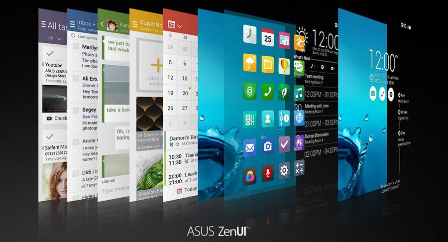 Asus Zenfone 4-оболочка Asus ZenUi