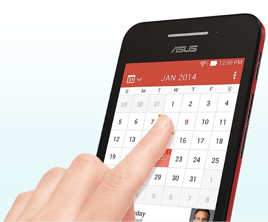 Asus Zenfone 4-передняя панель