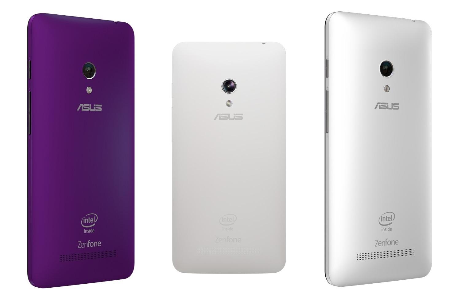 Asus Zenfone 5 A501CG-задняя панель