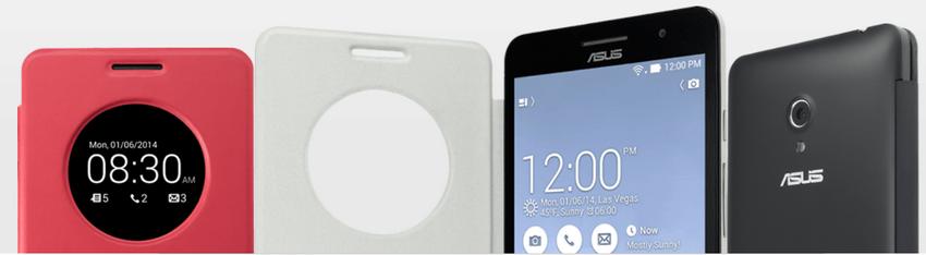 Asus Zenfone 6 A600CG-чехол View Flip Cover