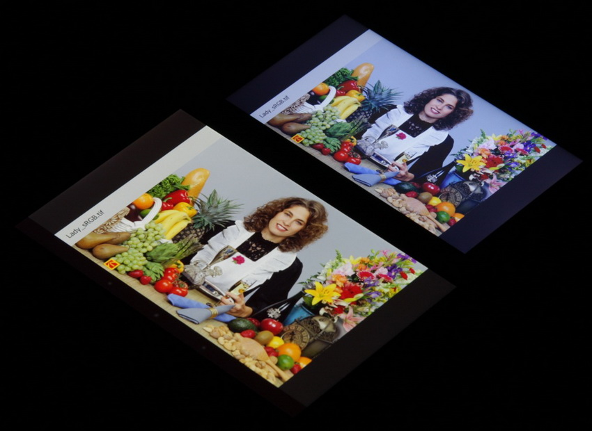 Asus Zenfone 6 A600CG и Nexus 7-тест экрана