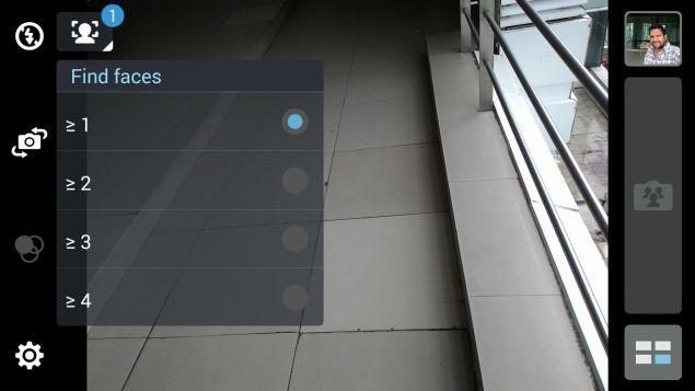 Asus Zenfone 6 A600CG-камера интерфейс