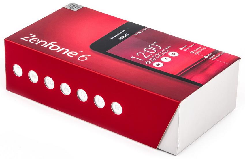 Asus Zenfone 6 A600CG-упаковка
