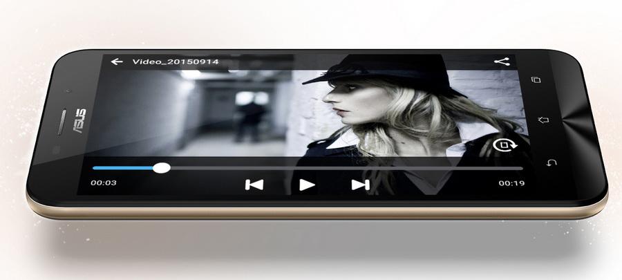 Asus Zenfone Max ZC550KL-Автономная работа Воспроизведение видео