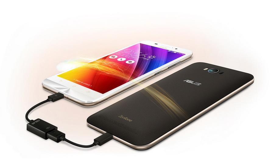 Asus Zenfone Max ZC550KL-Зарядка других устройств