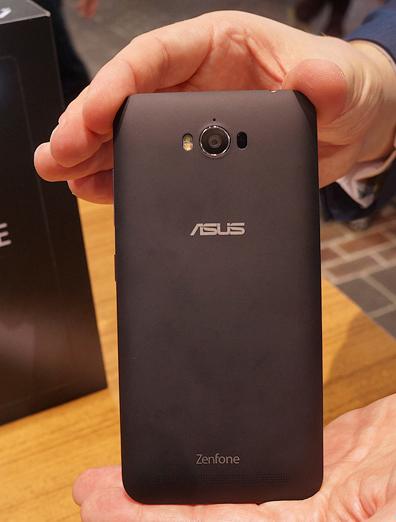 Asus Zenfone Max hands-on- Задняя панель