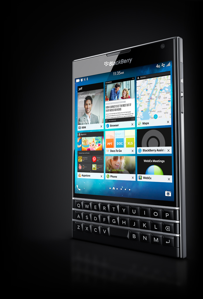 BlackBerry Passport-имиджевая картинка