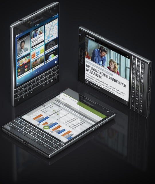 BlackBerry Passport-ракурсы
