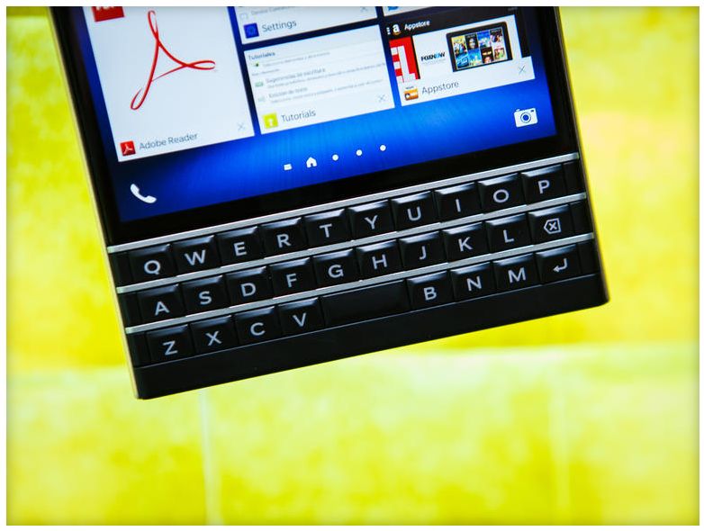Blackberry passport-QWERTY-клавиатура