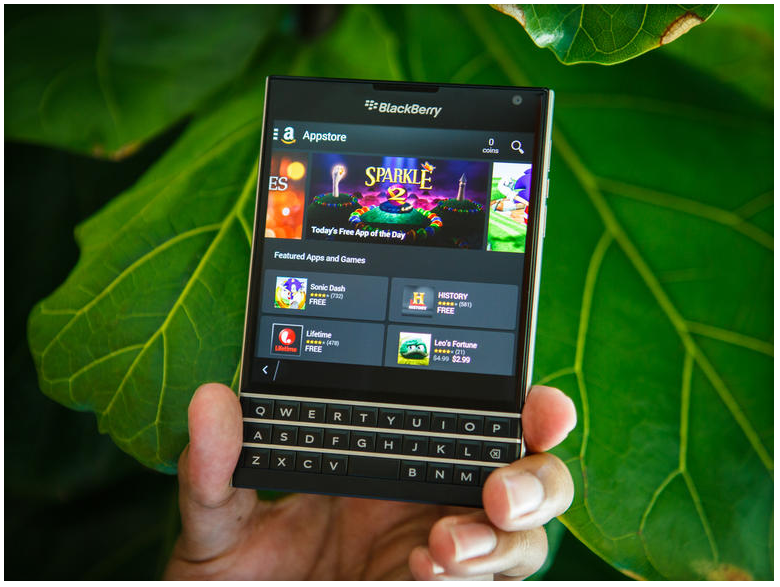 Blackberry passport-софт