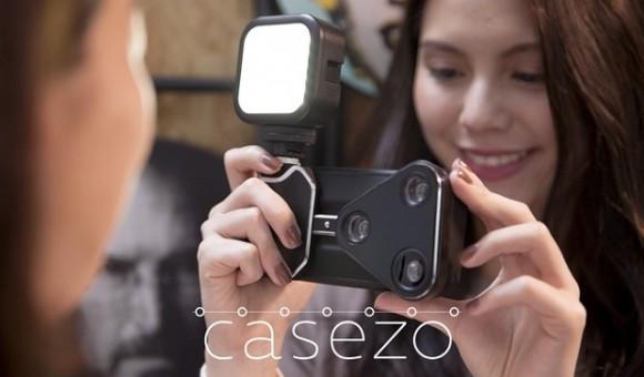 Чехол CASEZO превратит ваш iPhone в полноценный фотоаппарат