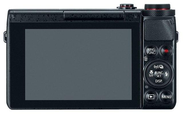 Canon PowerShot G7 X-откидной экран