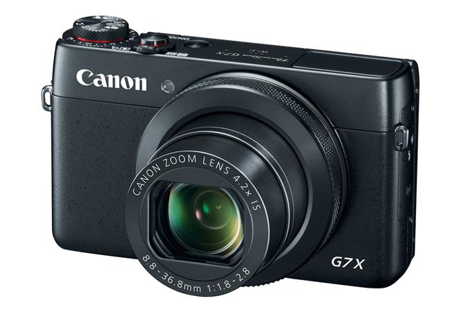 Canon PowerShot G7 X-вид спереди