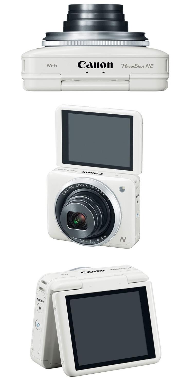 Canon PowerShot N2-ракурсы
