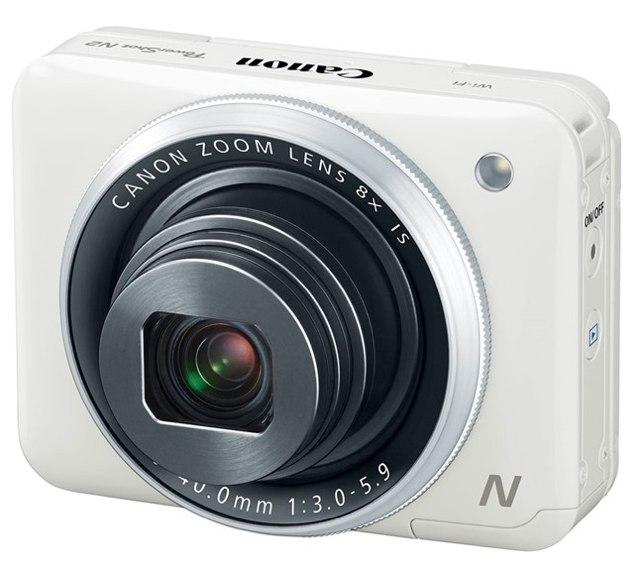 Canon PowerShot N2-вид спереди