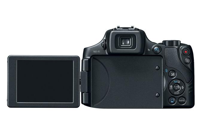 Canon PowerShot SX60 HS-откидной экран