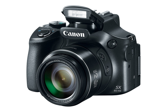 Canon PowerShot SX60 HS-вид спереди