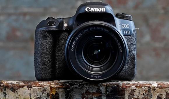 Canon представила новые зеркальные камеры EOS 77D и EOS 800D