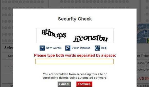Инженеры Google создали алгоритм для решения большинства типов CAPTCHA