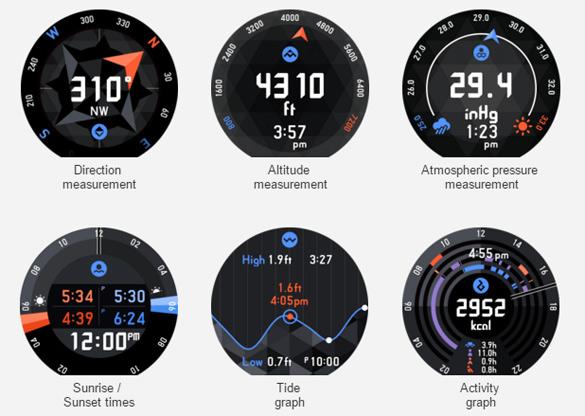 Casio WSD-F10-функциональность