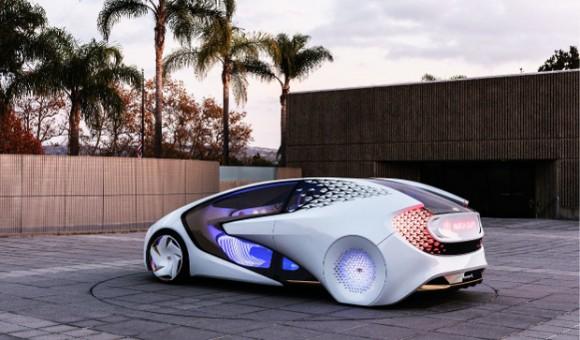 Concept-i — автомобиль с искусственным интеллектом от Toyota