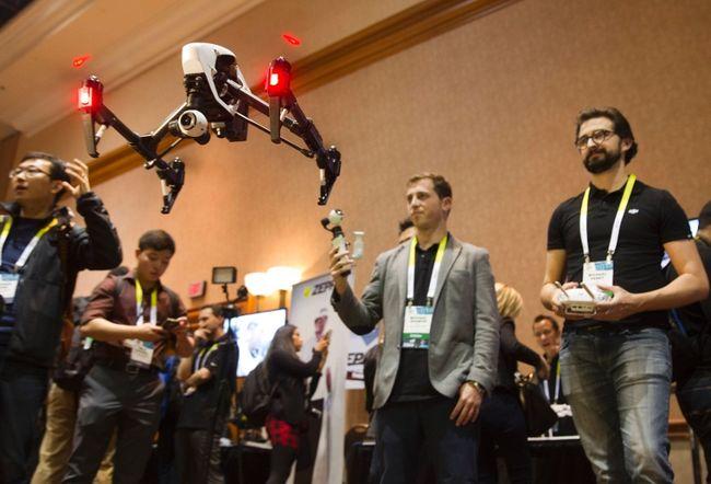Consumer Electronics Show-дроны