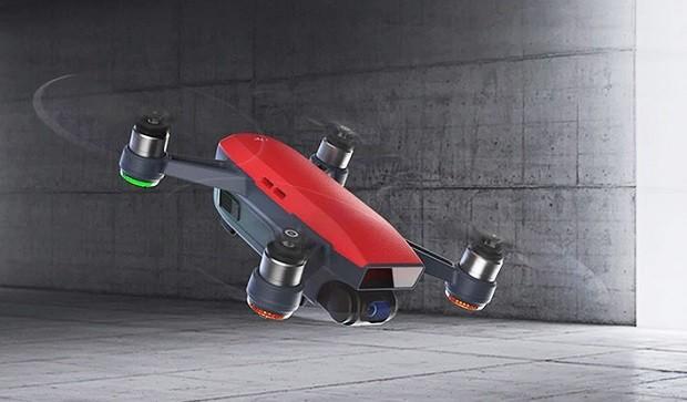 DJI представила самый доступный, компактный и интеллектуальный дрон Spark
