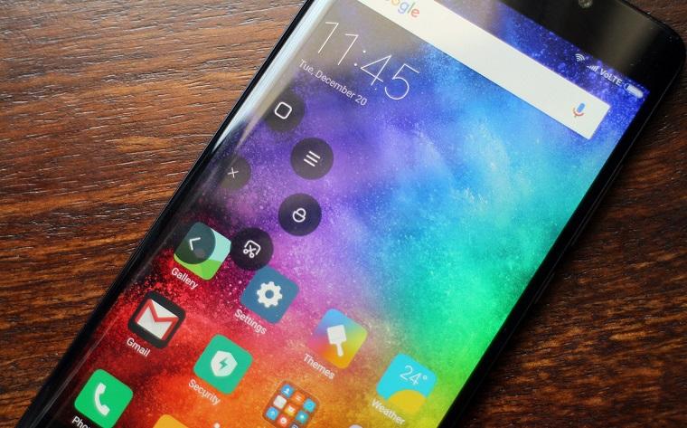 Делаем скриншоты в прошивке MIUI на Xiaomi