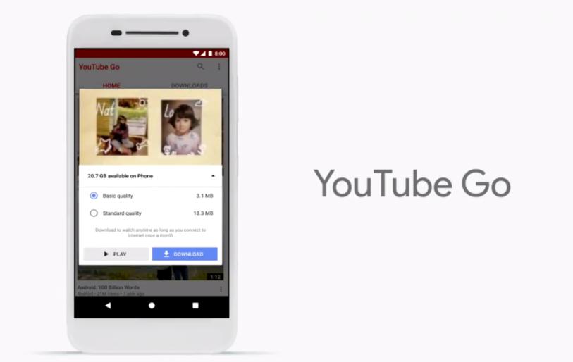 Десятка главных новостей с конференции Google IO 2017 – YouTube Go